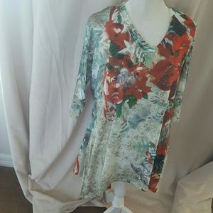 NWT Christmas blouse